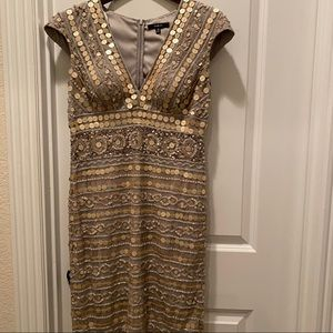 Silver sequin dress from Nordstrom